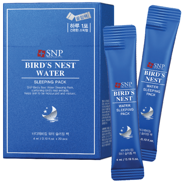 Birds nest water sleeping pack