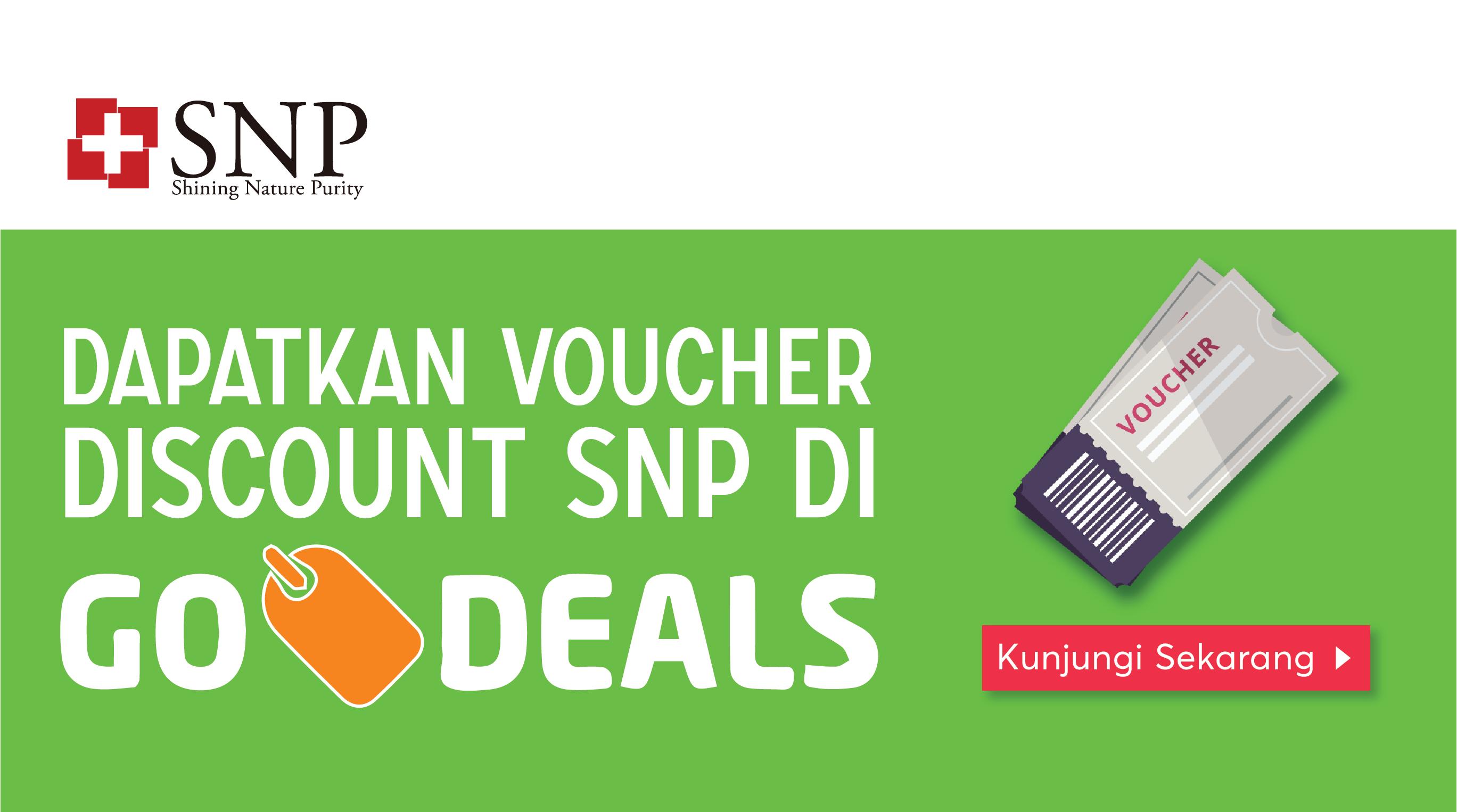 SNP Voucher offers di Go Deals bulan Juni